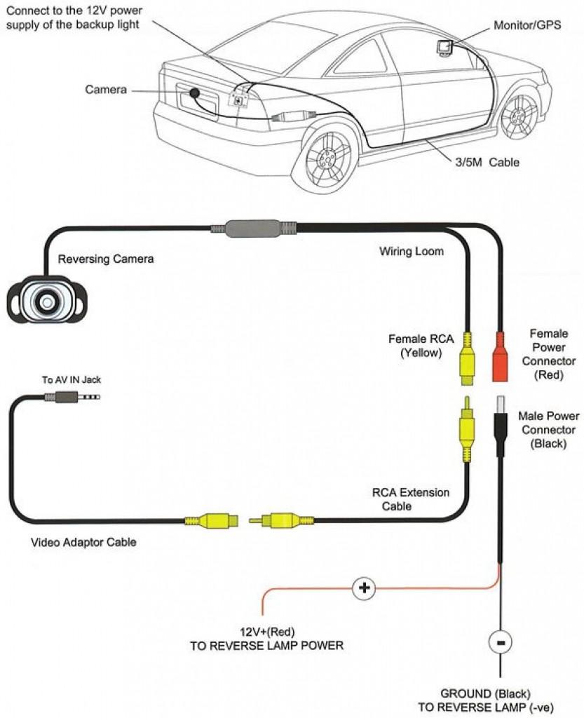peak backup camera wiring diagram elegant