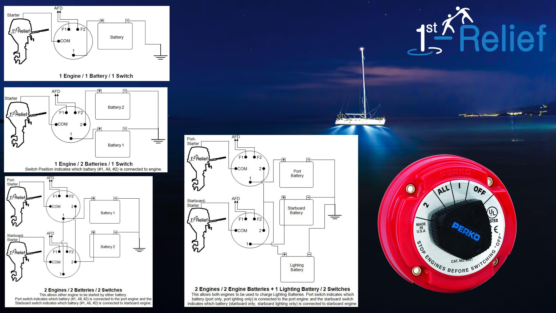Perko Marine Battery Switch Wiring Diagram Mapiraj