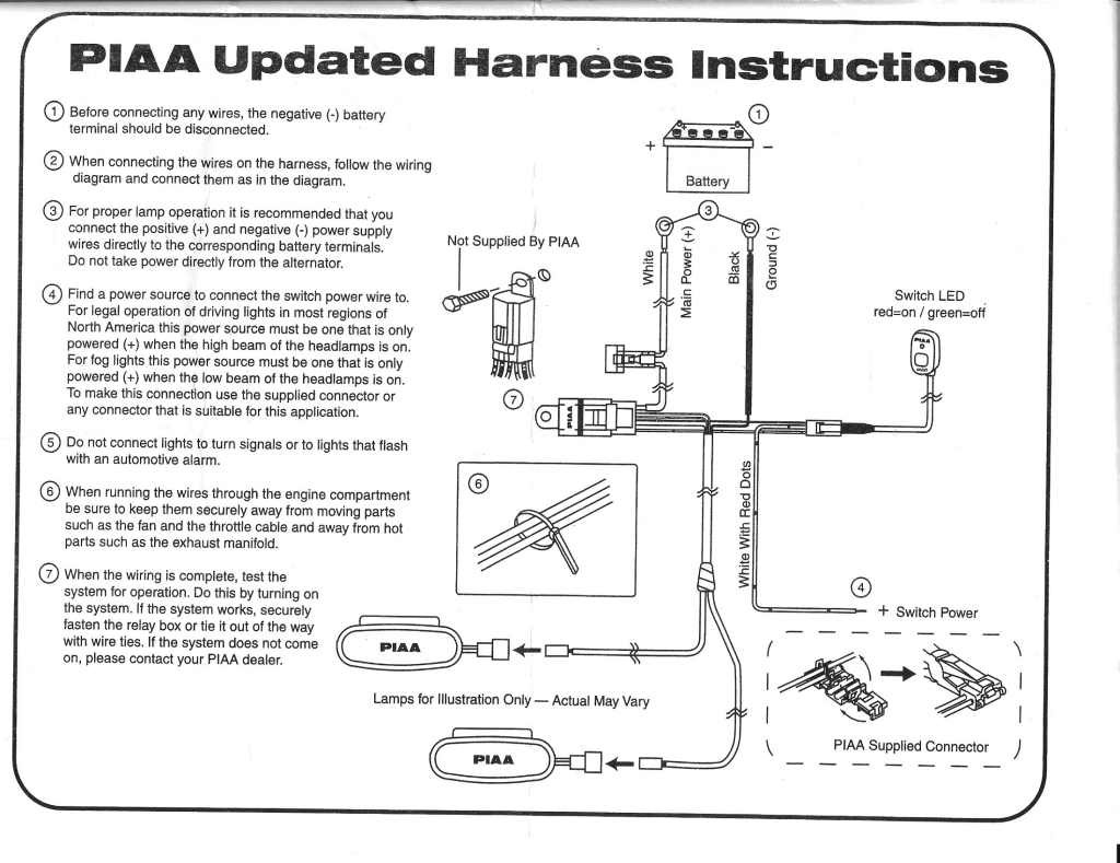 Piaa Wiring Harness To Ford Oem Switch Trusted Diagram Online Light Library Aftermarket
