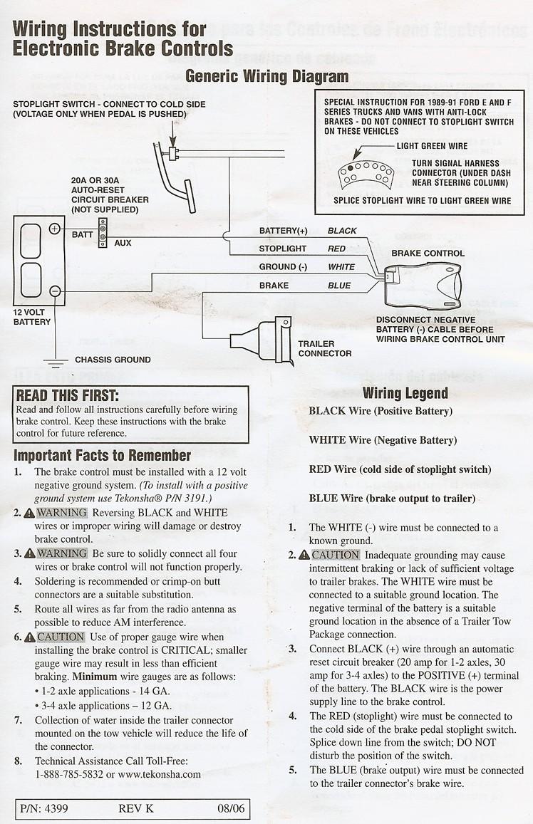 diagram wiring pic gorgeous tekonsha voyagerric brake controller rh extortr Draw Tite Brake Controller