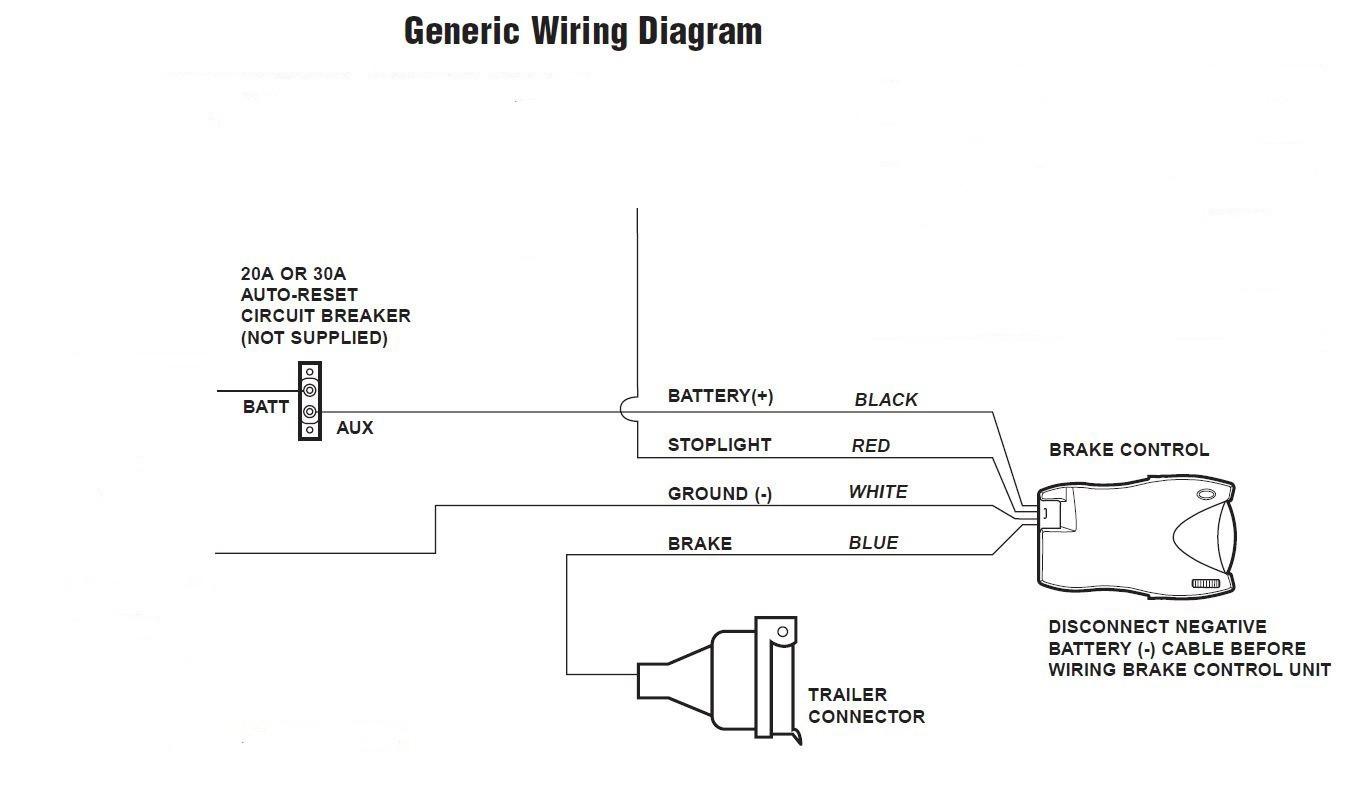 brake controller wiring diagram inspirational trailer tekonsha p3 of rh natebird me Draw Tite Brake