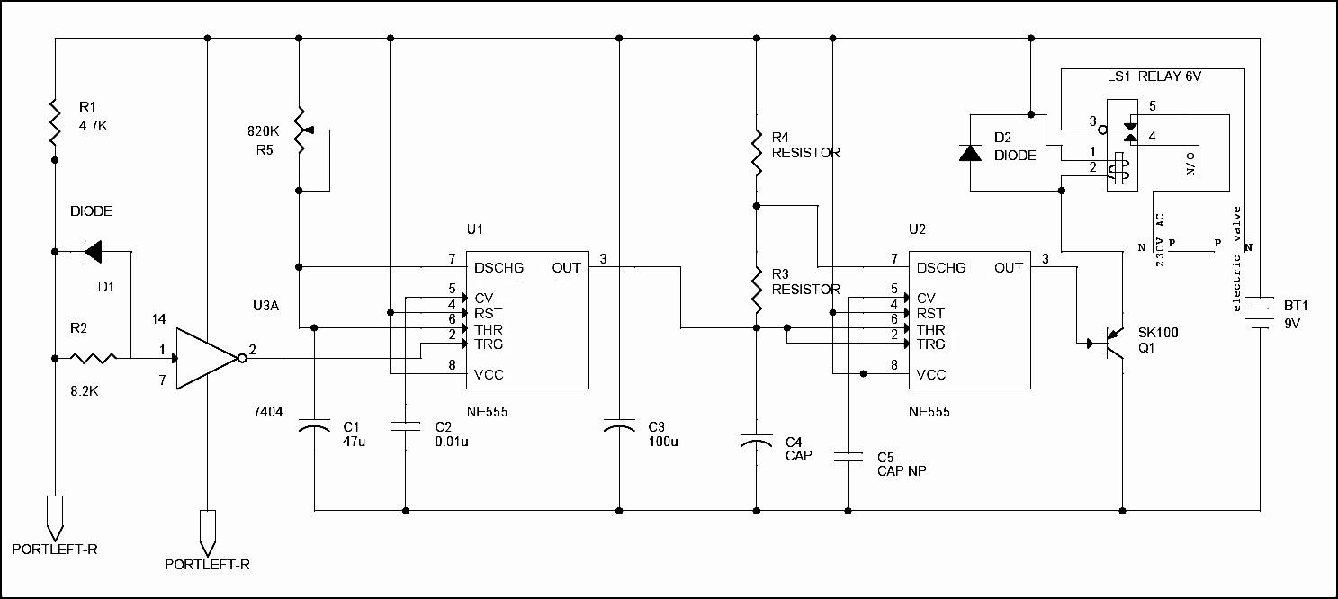Here is a simple electronic plant watering system circuit designed using 555 Timer and is used in watering plants automatically without any human