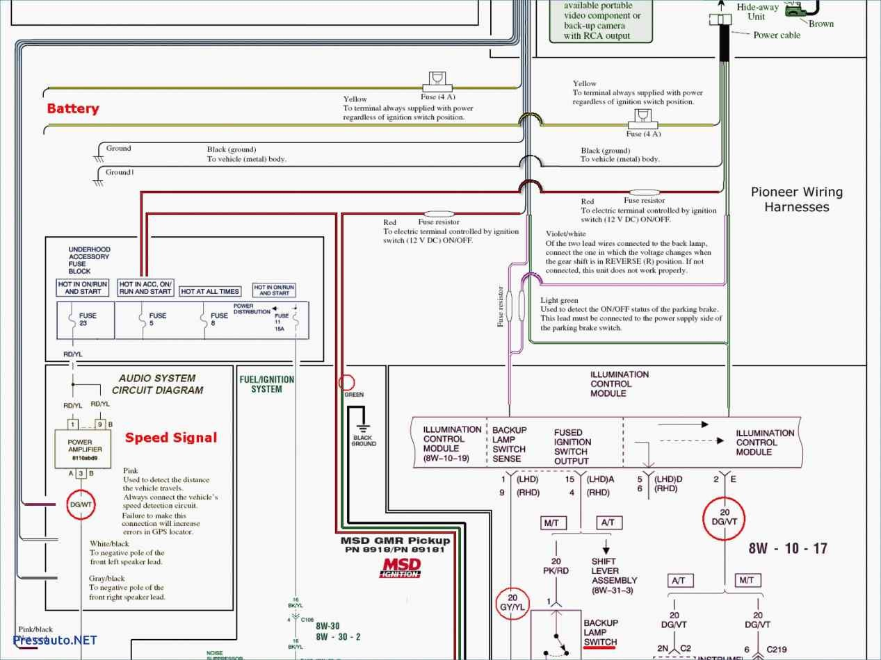 Pioneer Avh-200Bt Wiring Diagram from mainetreasurechest.com