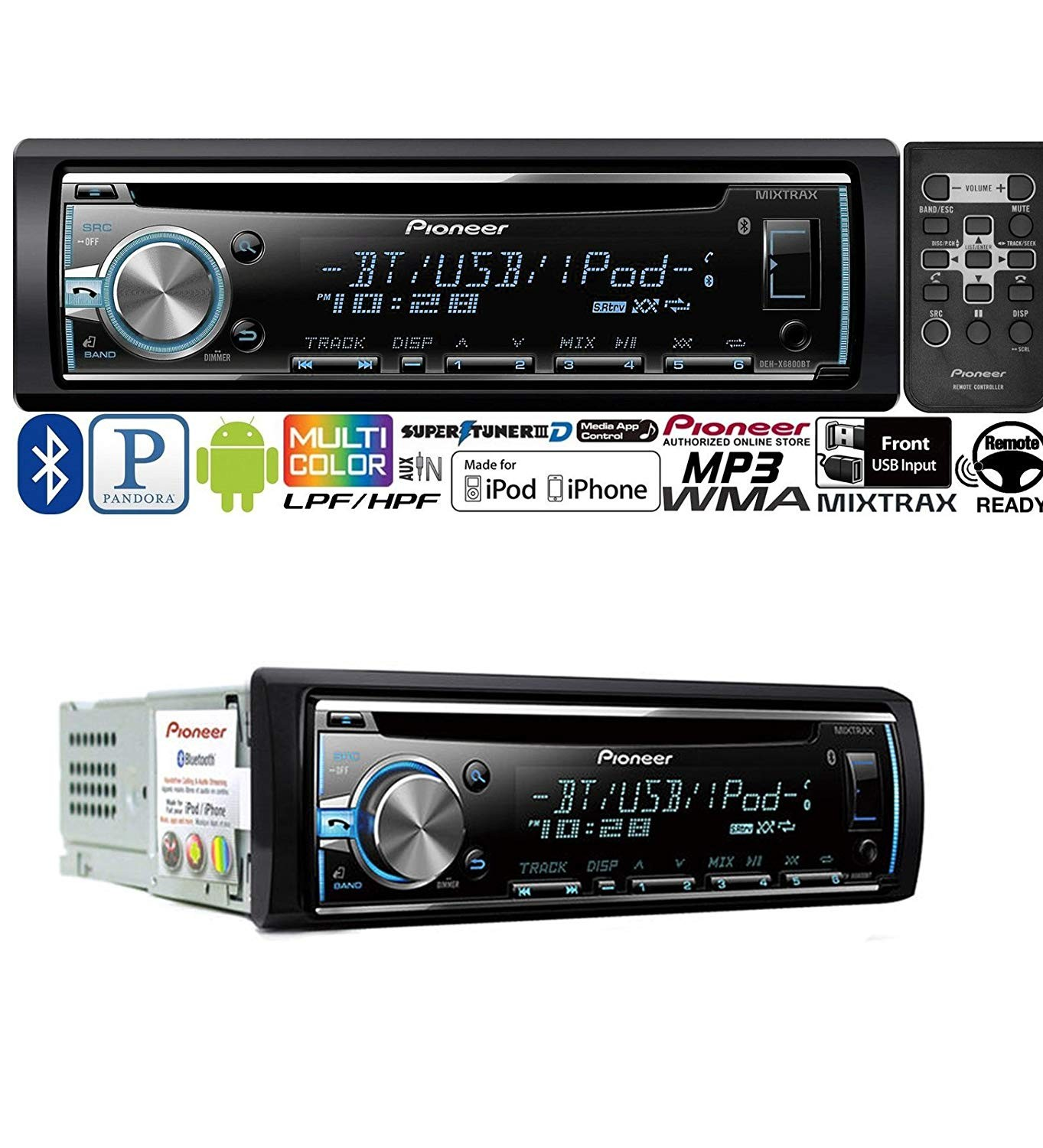 Deh 3300ub In Dash Cd Player Itravelpages Pioneer P2600 Wiring Diagram X6800bt Harness 4k Wallpapers Design 1100 Stereo