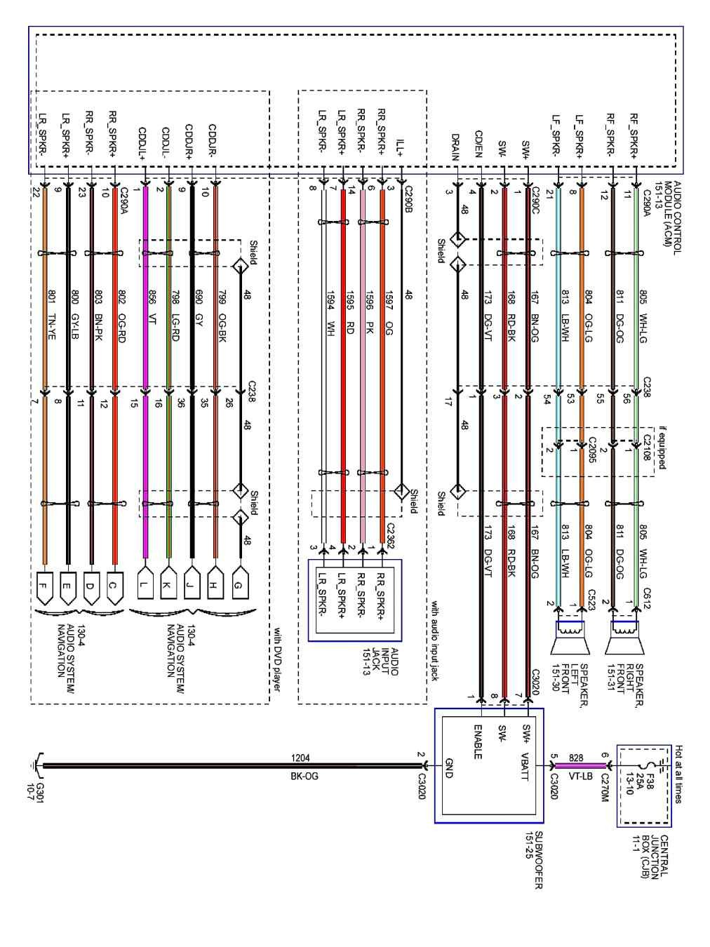 Pioneer Dxt X2669Ui Wiring Diagram from mainetreasurechest.com
