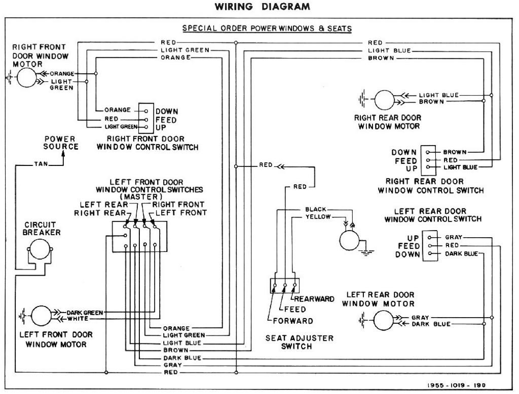 Power Window Wiring Diagram Chevy Inspirational Wiring Diagram Image Ford  F-250 Power Window Schematic 1955 Ford Power Window Wiring Diagram