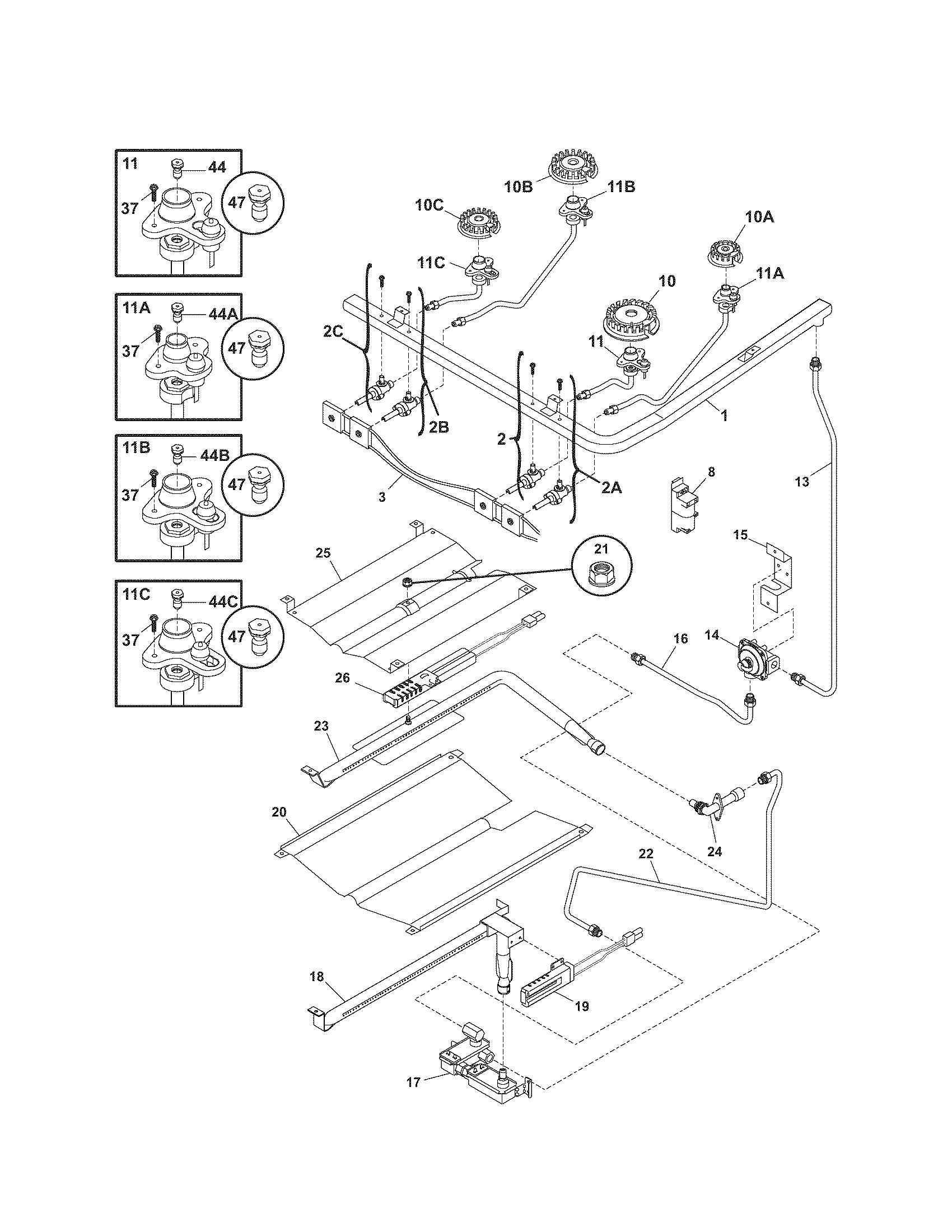 Pressure-washer-burner-wiring-diagram