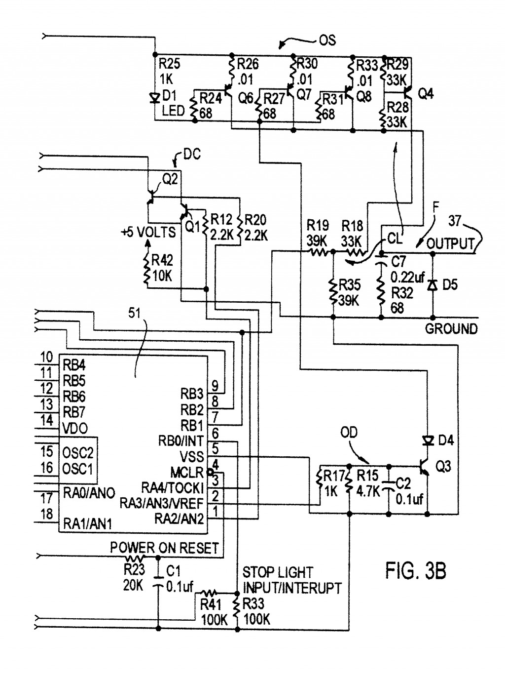 Patent Us Electronic Trailer Brake Controller Google And Primus Iq Wiringm Prodigy P2 Tekonsha 1024—1375 With Wiring Diagram
