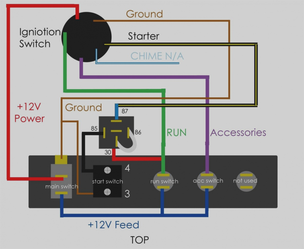 Beautiful 12v Switch Panel Wiring Diagram 12V Gimnazijabp Me