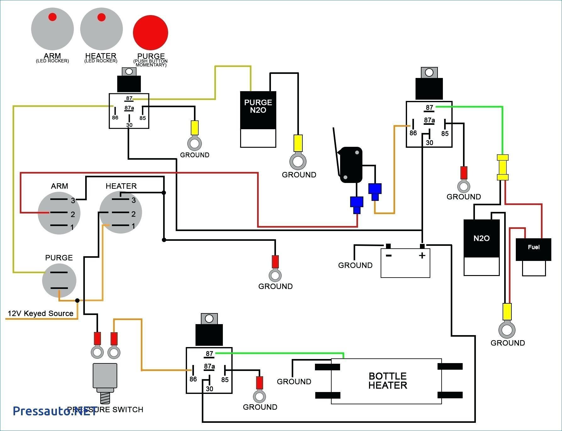Race Car Push Button Start Wiring Diagram - DIY Enthusiasts Wiring ...