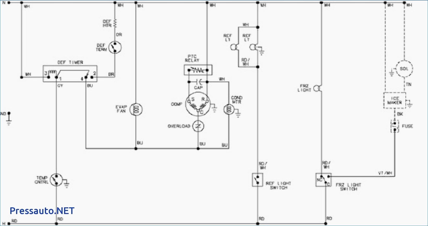 refrigerator wiring diagram pdf circuit wiring and diagram hub