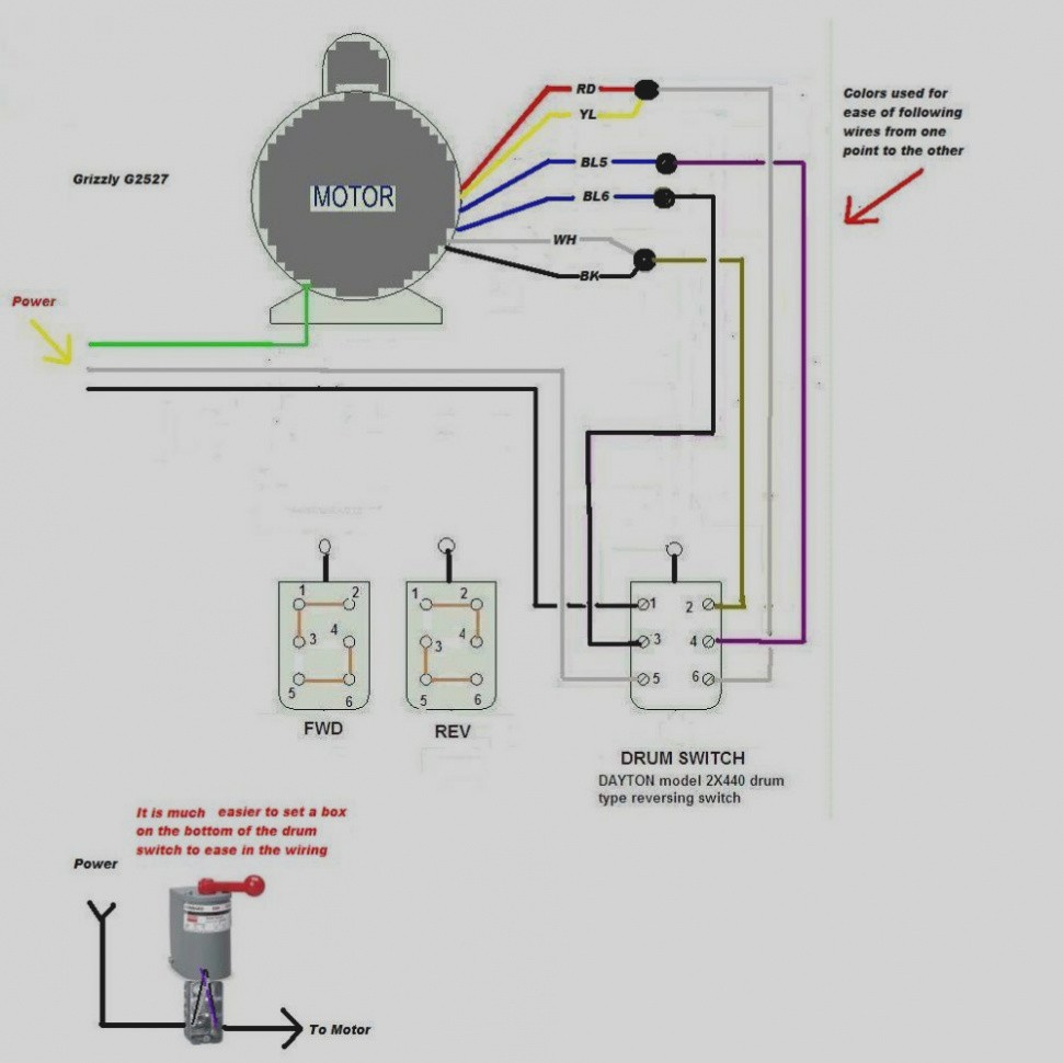 reversing drum switch wiring diagram inspirational