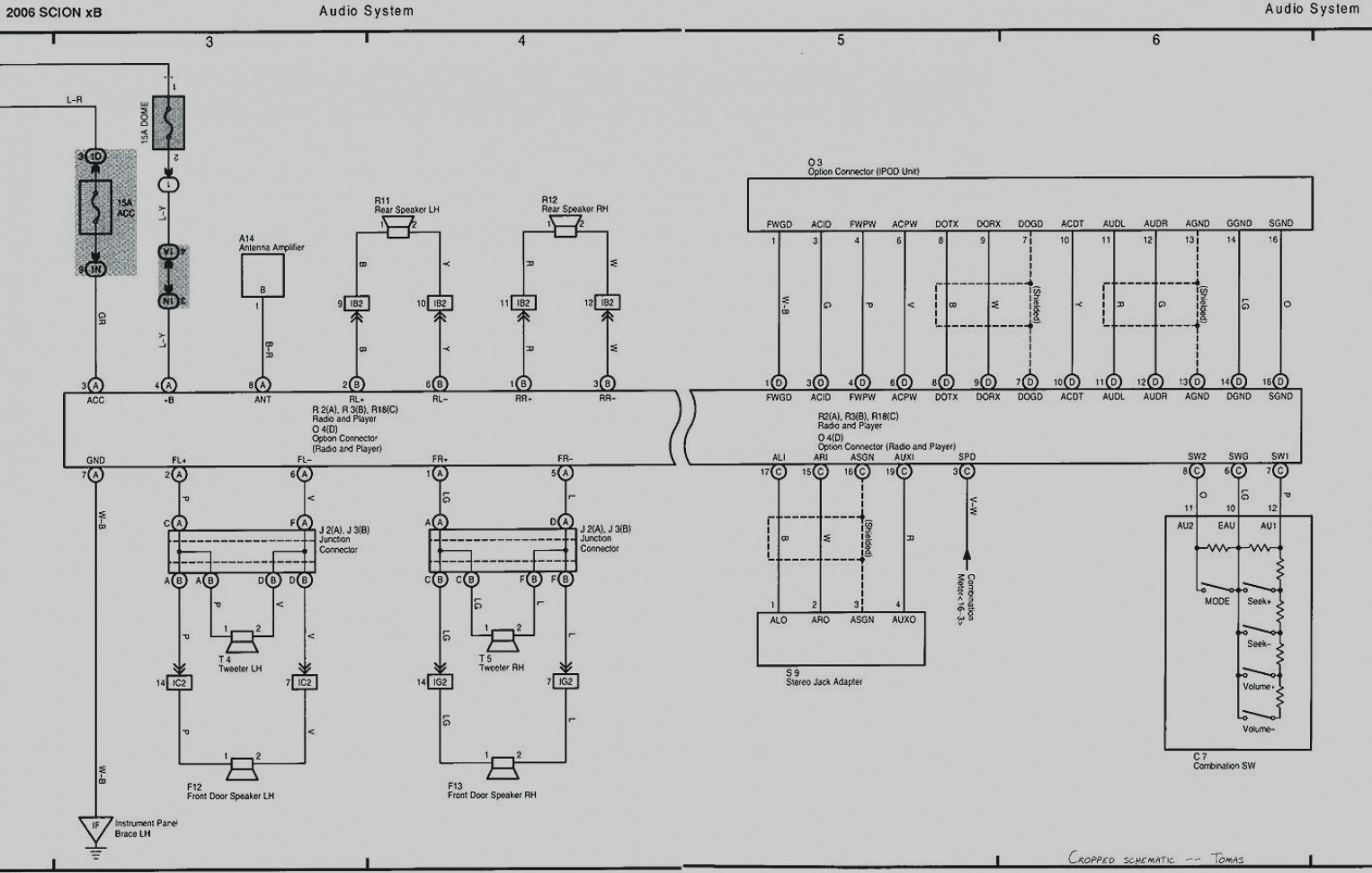 Scion Xb Electrical Diagram Trusted Wiring 2009 Toyota Diagrams For Stereo On 2011 Schematics Rear