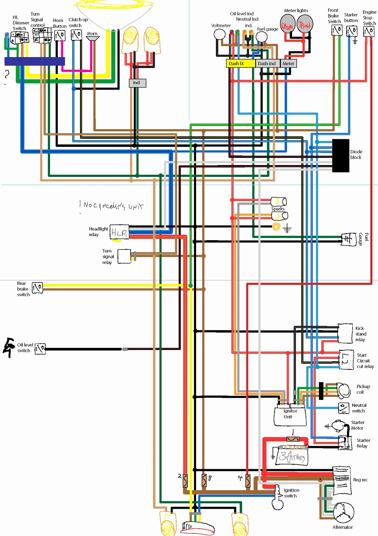 Diagram Website Awesome Xs650 Wiring Diagram Car Pinterest Scooters Bobbers and