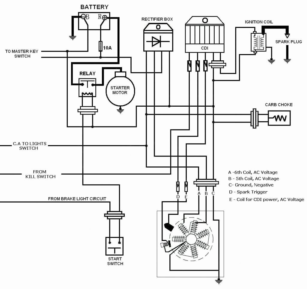 light switch wiring diagram moreover scooter ignition wiring diagram rh abetter pw