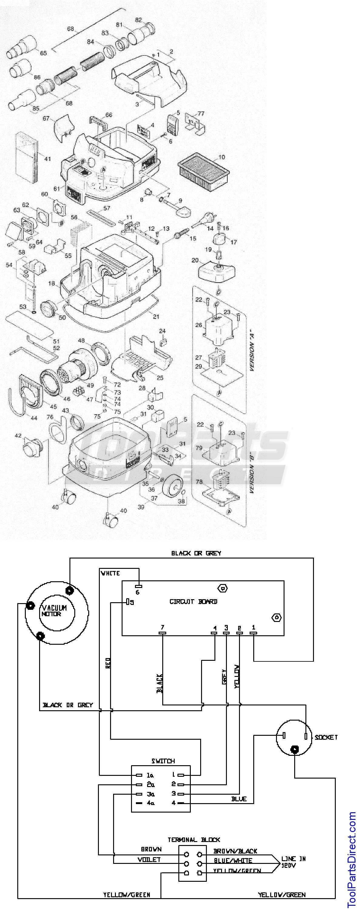 Shop Vac Wiring Diagram Trusted Schematics Rug Doctor Craftsman Somurich Com Brand Replacement Parts