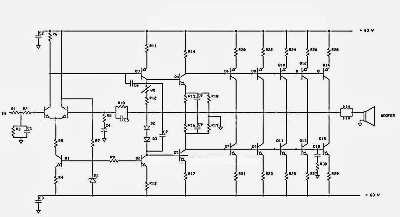 Audio Amplifier 1000W