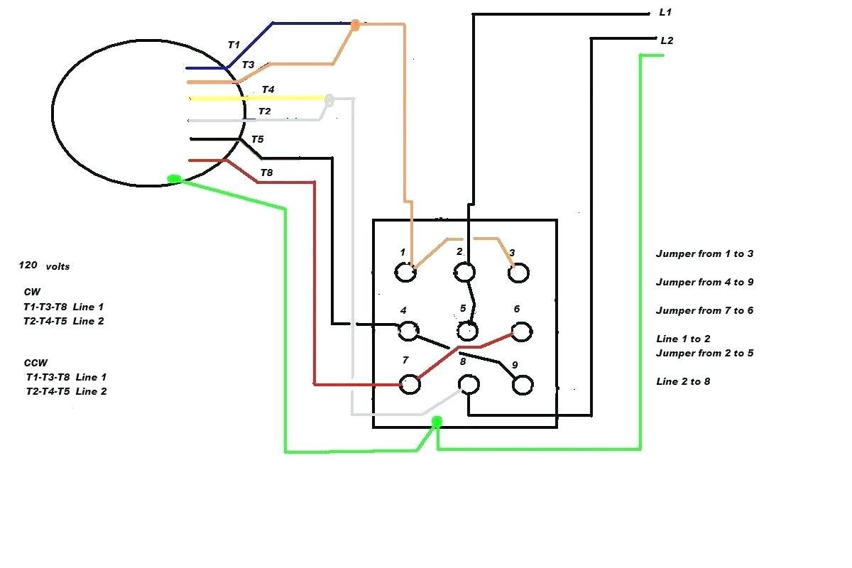 Capacitor Start Motor Wiring Diagram Forward Reverse Control With Best Single Phase Run 1