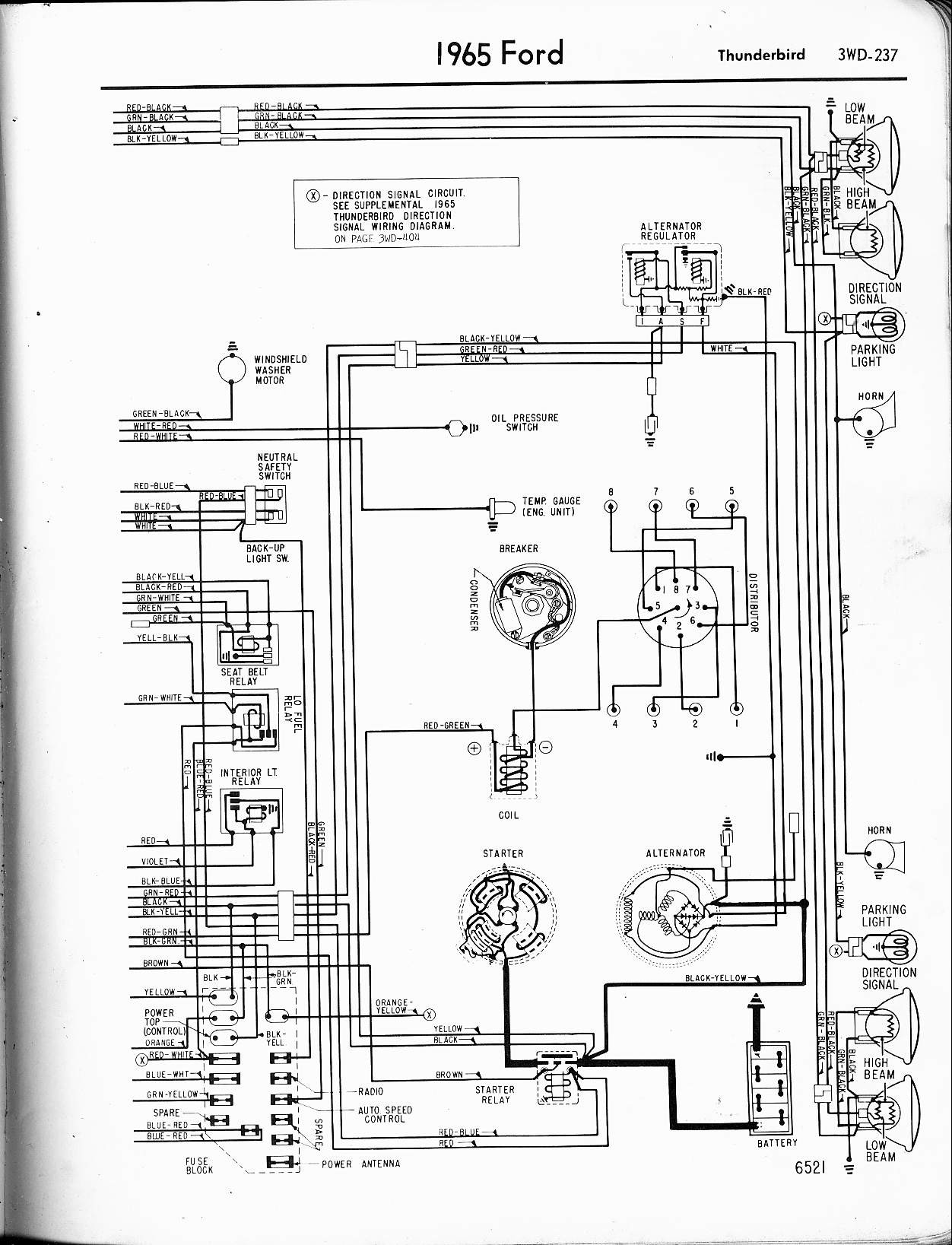 Speaker Wiring Diagram Series Vs Parallel Inspirational Guitar 57 65 Ford Diagrams Rh Oldcarmanualproject Configurations
