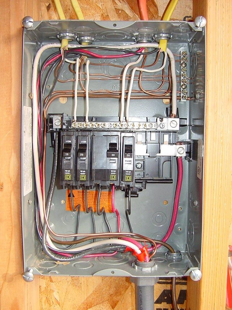 Square D Subpanel Wiring Diagram Inspirational | Wiring Diagram Image