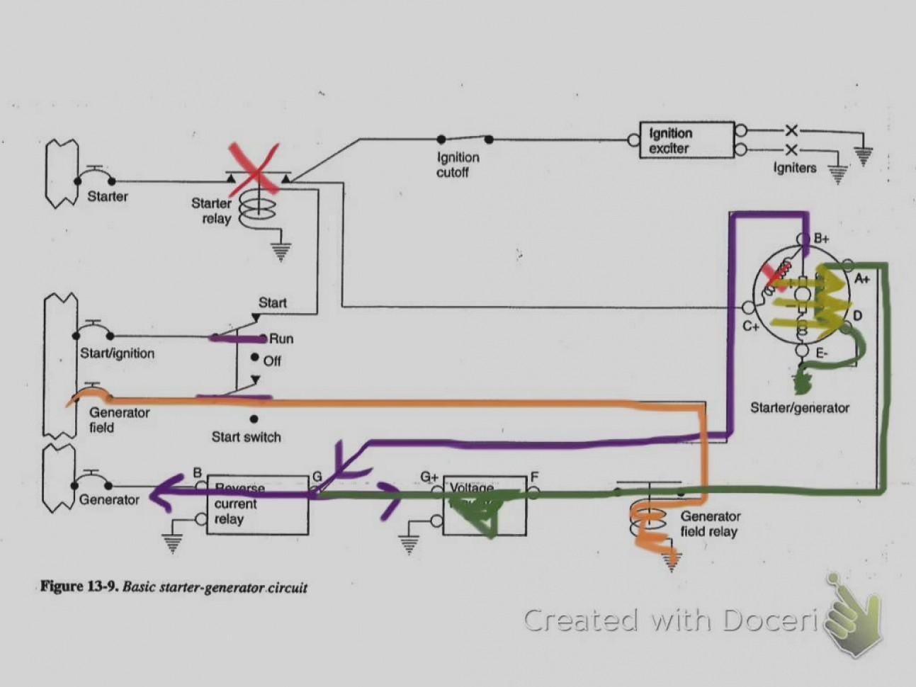 Inspirational Starter Generator Voltage Regulator Wiring Diagram Circuit