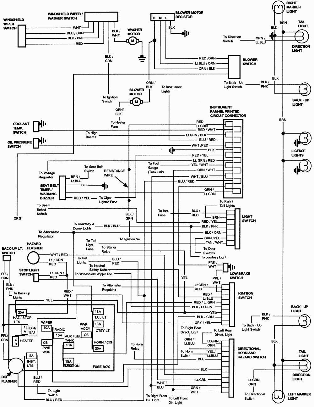 1993 ford aerostar wiring diagram