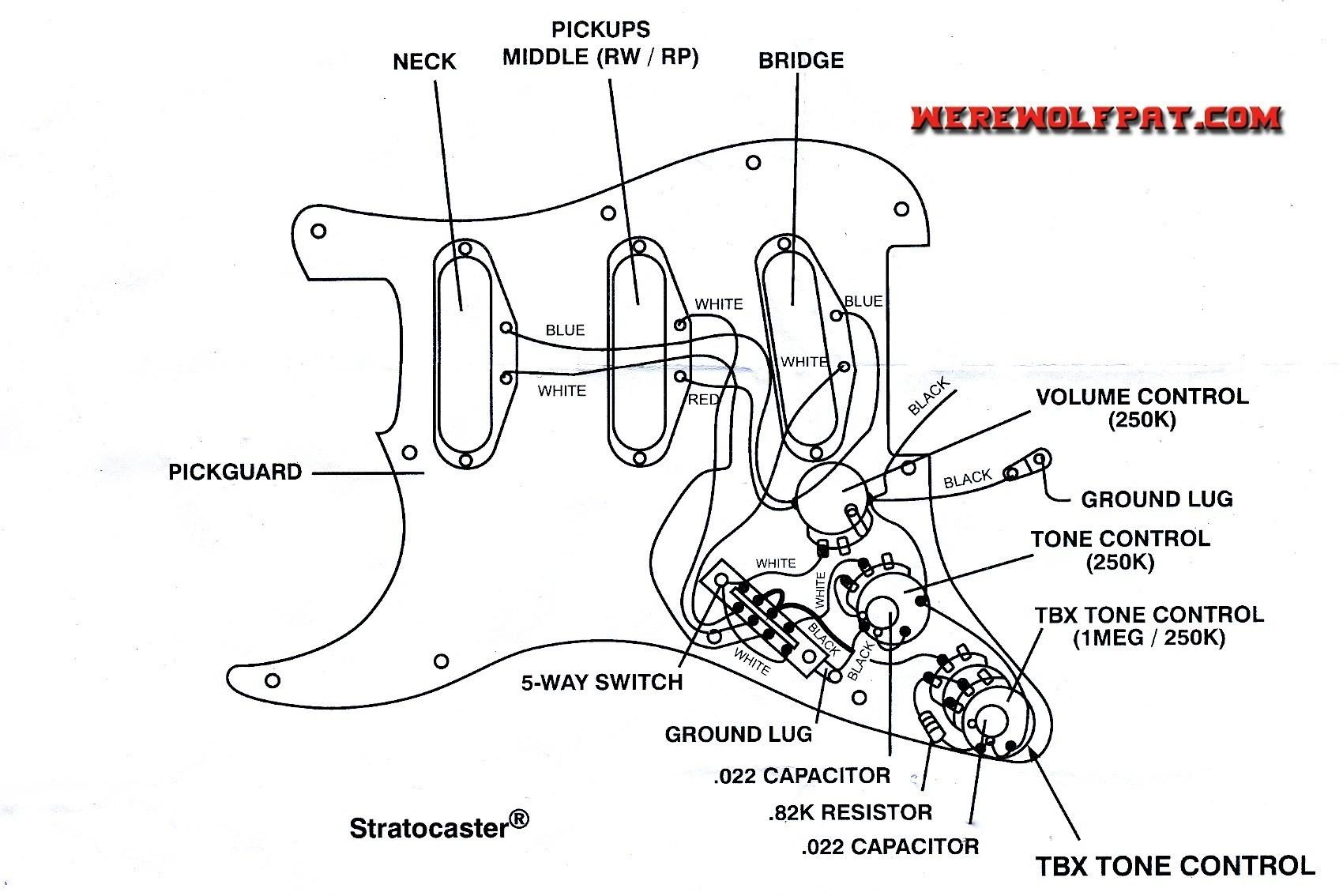 Strat Pickup Diagram Gallery
