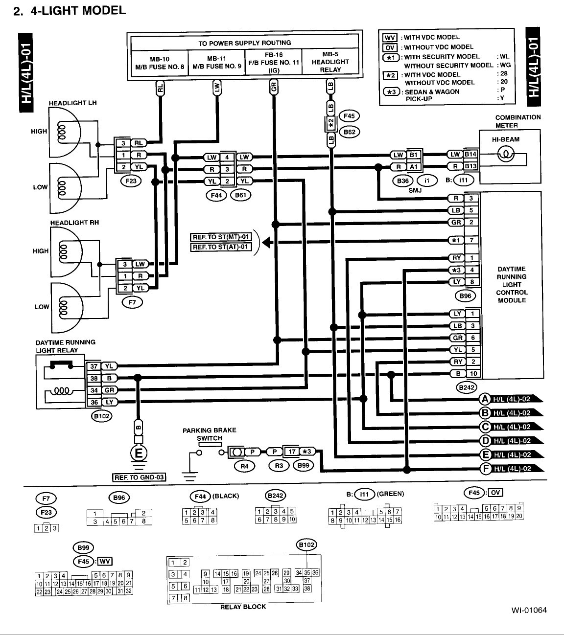 Wiring Diagram 2005 Subaru Legacy Stereo Block For Alluring 2001 Tail Light Wiring 1979 Ford Truck 200 Legacy Tail Light Wiring