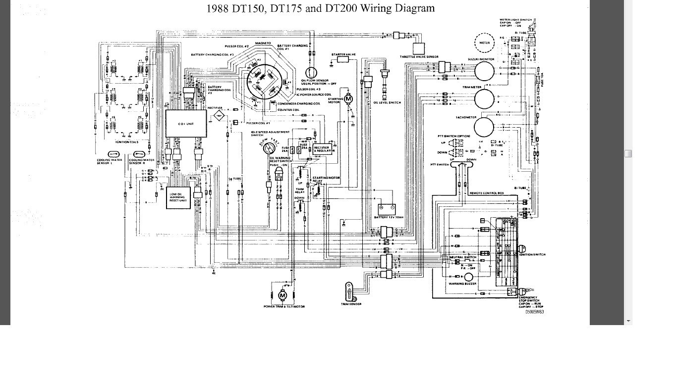 Yamaha Tw200 Wiring Diagram Detailed Schematics 1986 Xt 600 Dt200r Enthusiast Diagrams U2022 Xvs1100