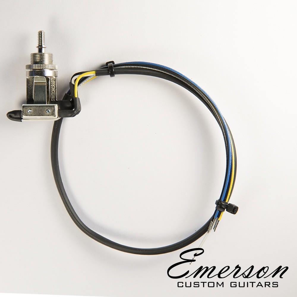 Emerson Custom Prewired Toggle Switch 3 Way