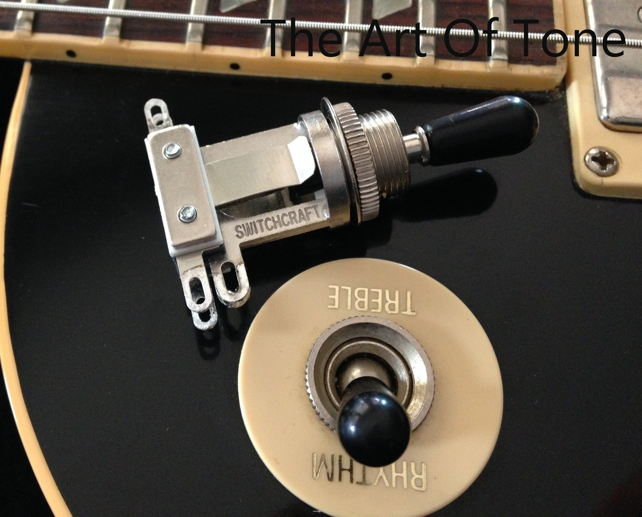 Switchcraft Short Frame Toggle Black Switch Tip The Art Tone