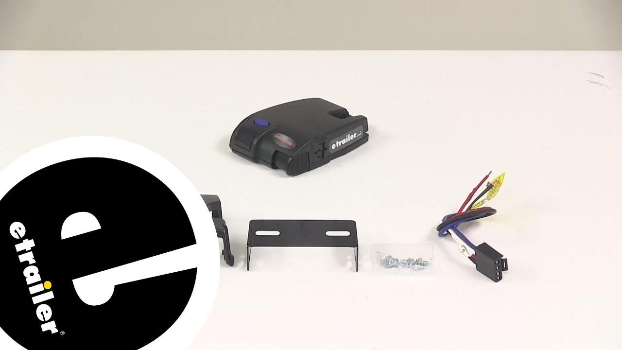 Demo Tekonsha Brake Controller TK etrailer