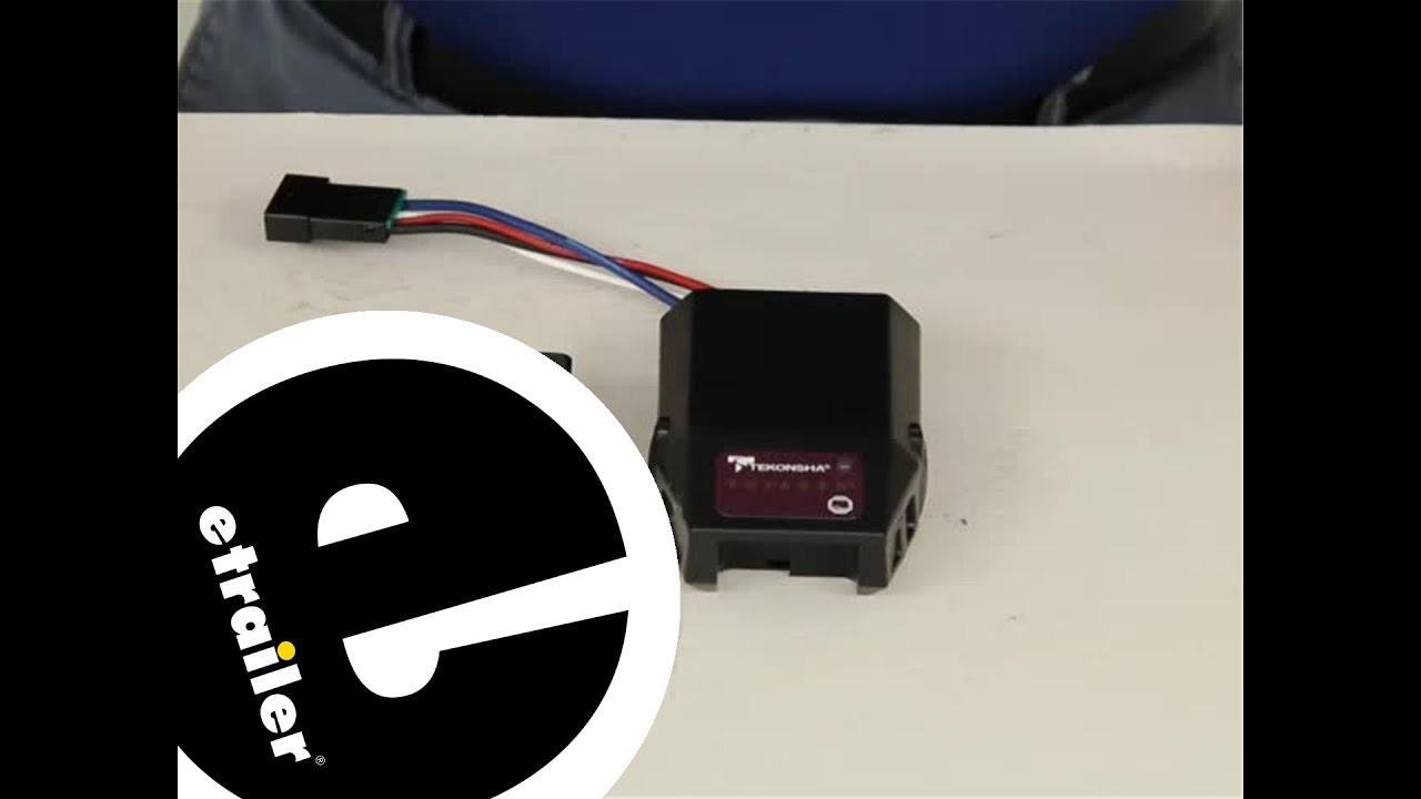 Tekonsha Brake Controller Review etrailer