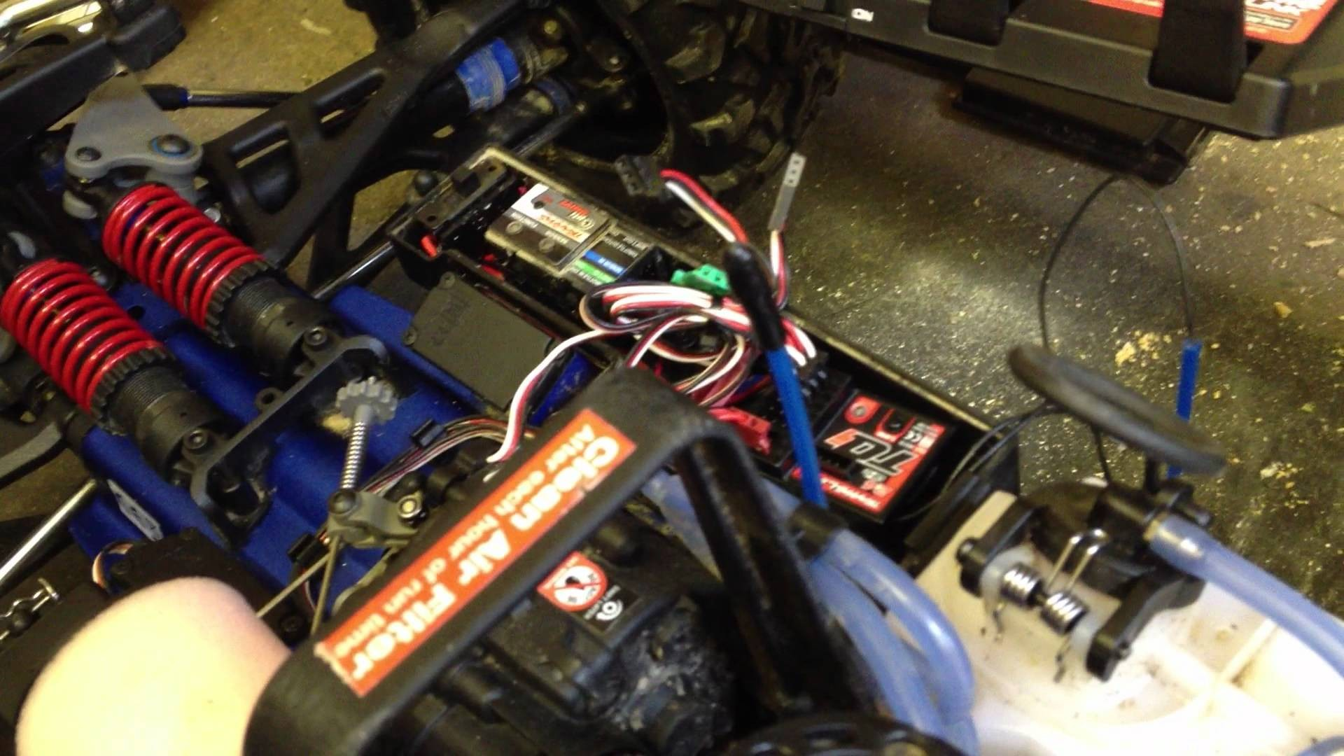 Traxxas Tqi Receiver Wiring Diagram from mainetreasurechest.com