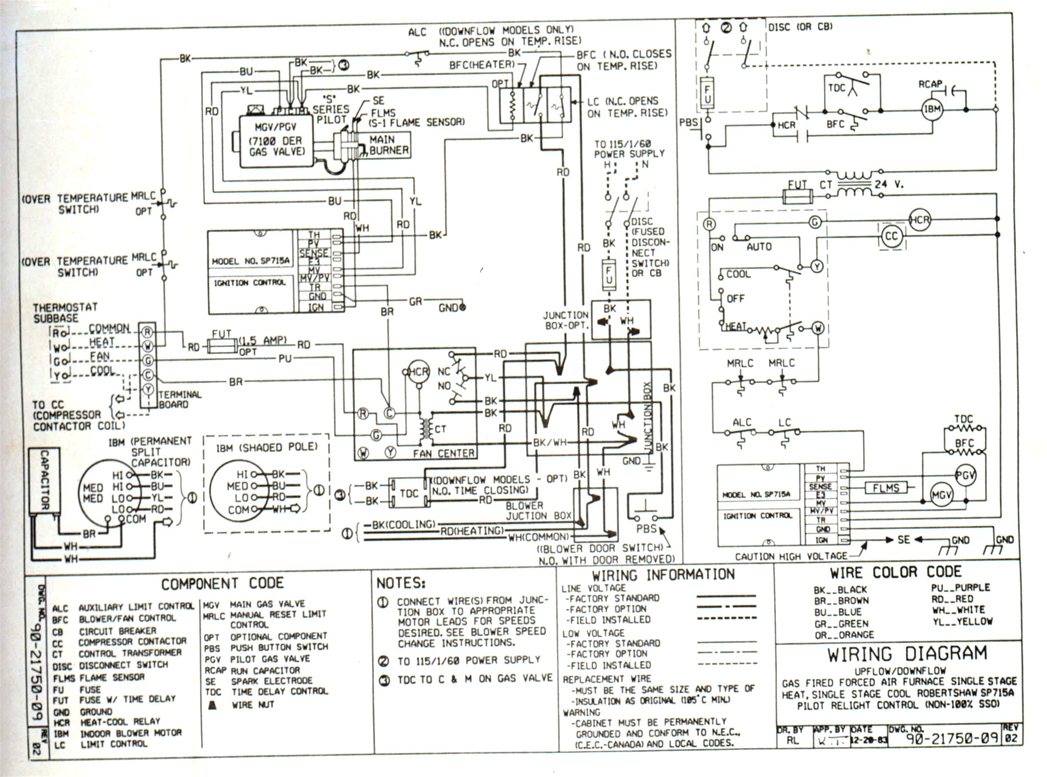 York Heat Pump Wiring Diagram Lenito And