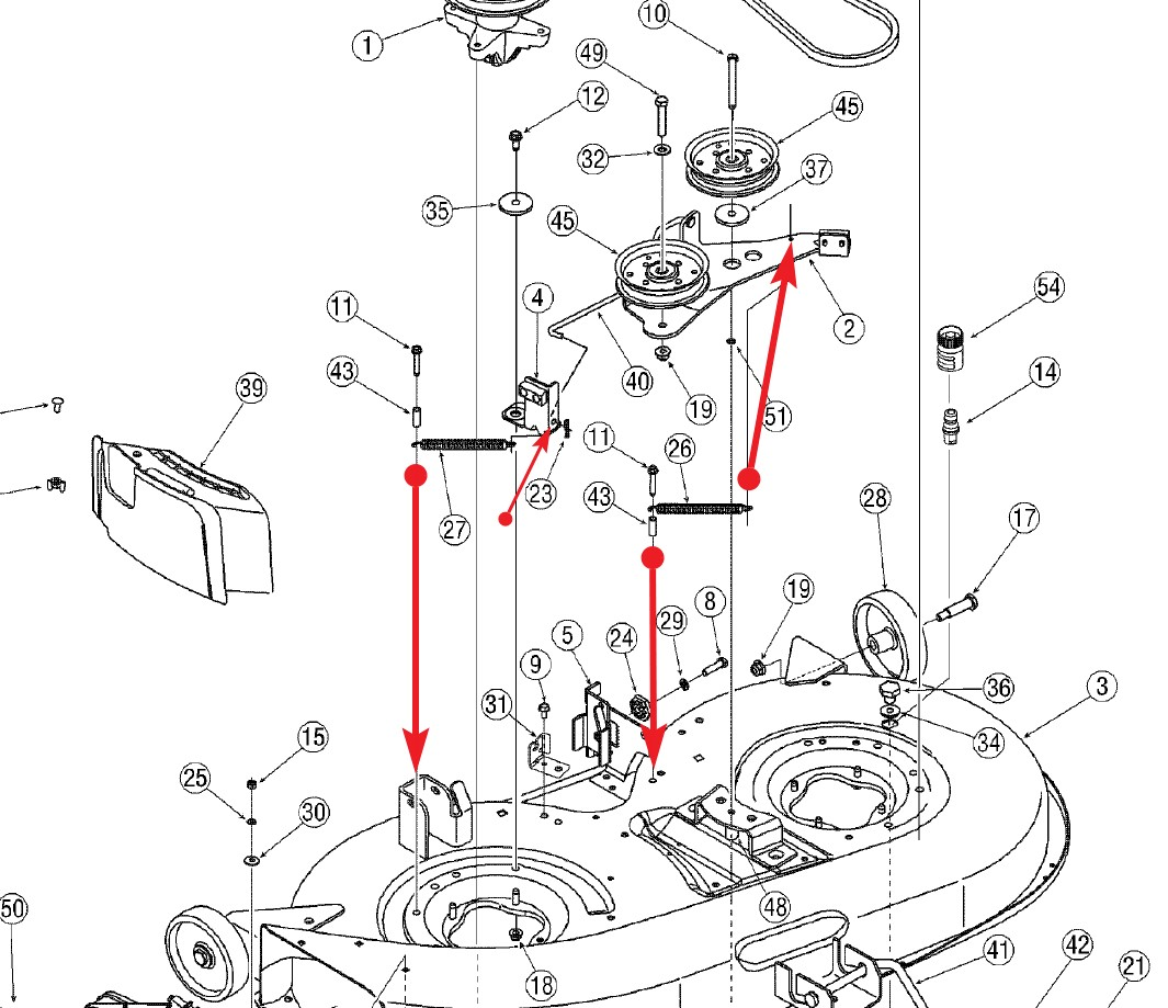 Troy Bilt Bronco Riding Mower Wiring Diagram Wiring Diagram & Fuse Troy-Bilt  Pony Belt Replacement Diagram Troy Bilt Bronco Mower Wiring Diagram