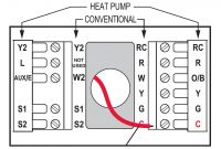 Two Wire thermostat Wiring Diagram New Two Wire thermostat Wiring Diagram Also Honeywell thermostat Wiring