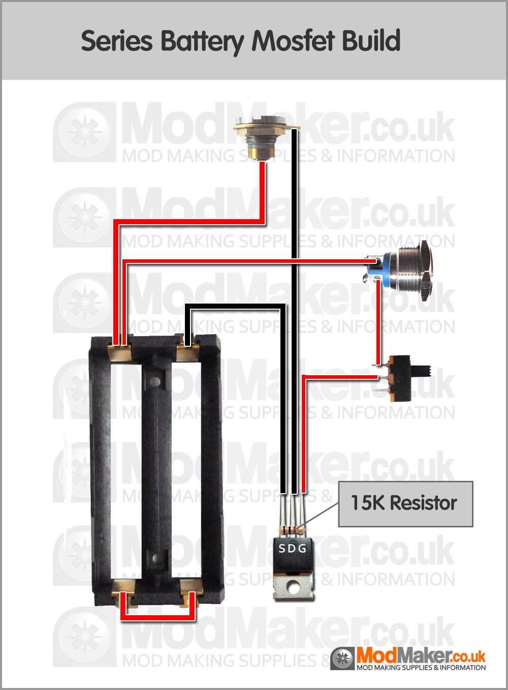 Series Battery Mosfet Wiring Diagram