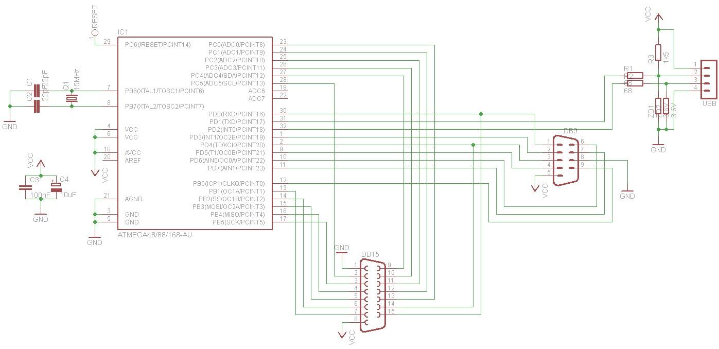 Prototype schematic Prototype PCB design