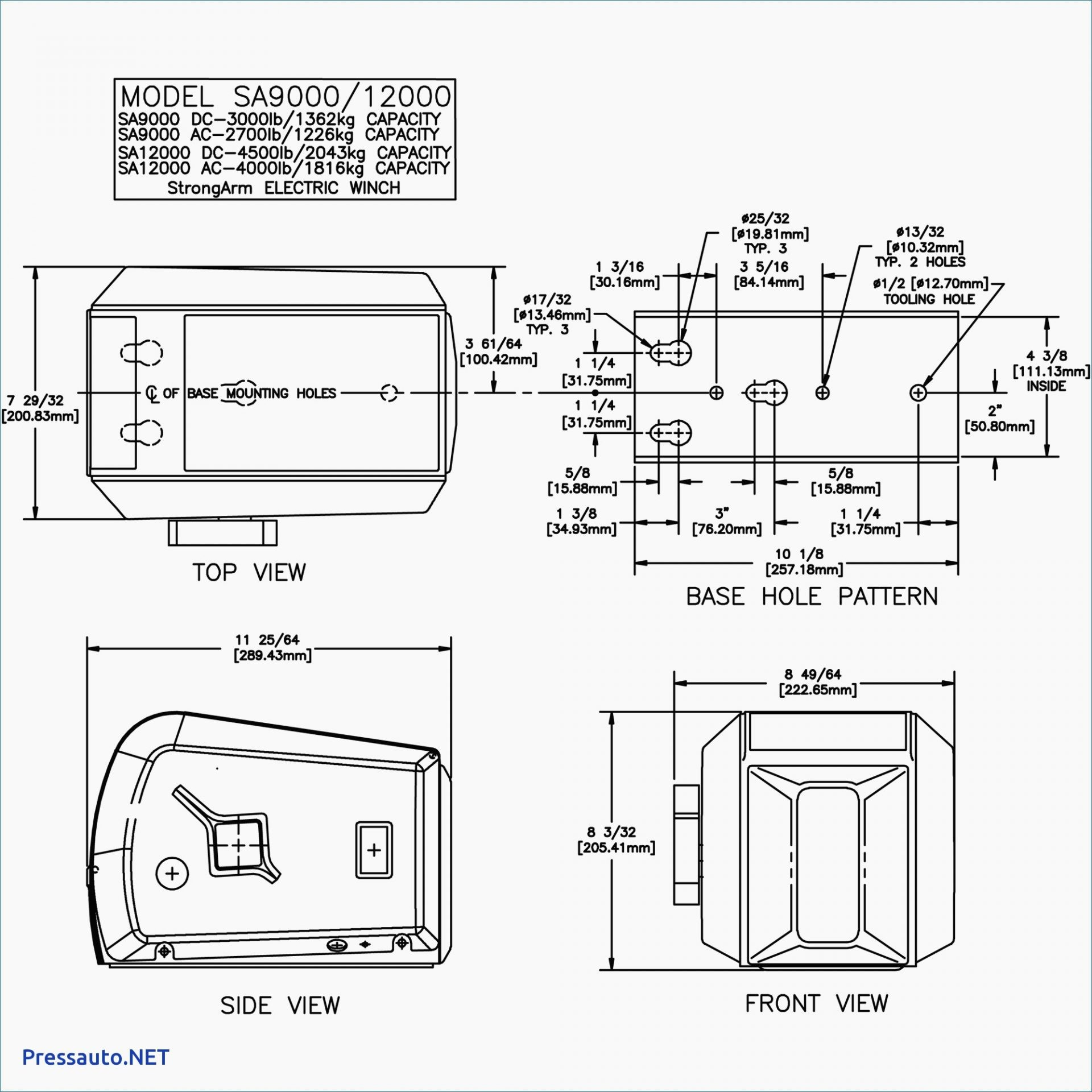 Wiring Diagram for Warn Winch Best Winch solenoid Wiring Diagram Roc Grp