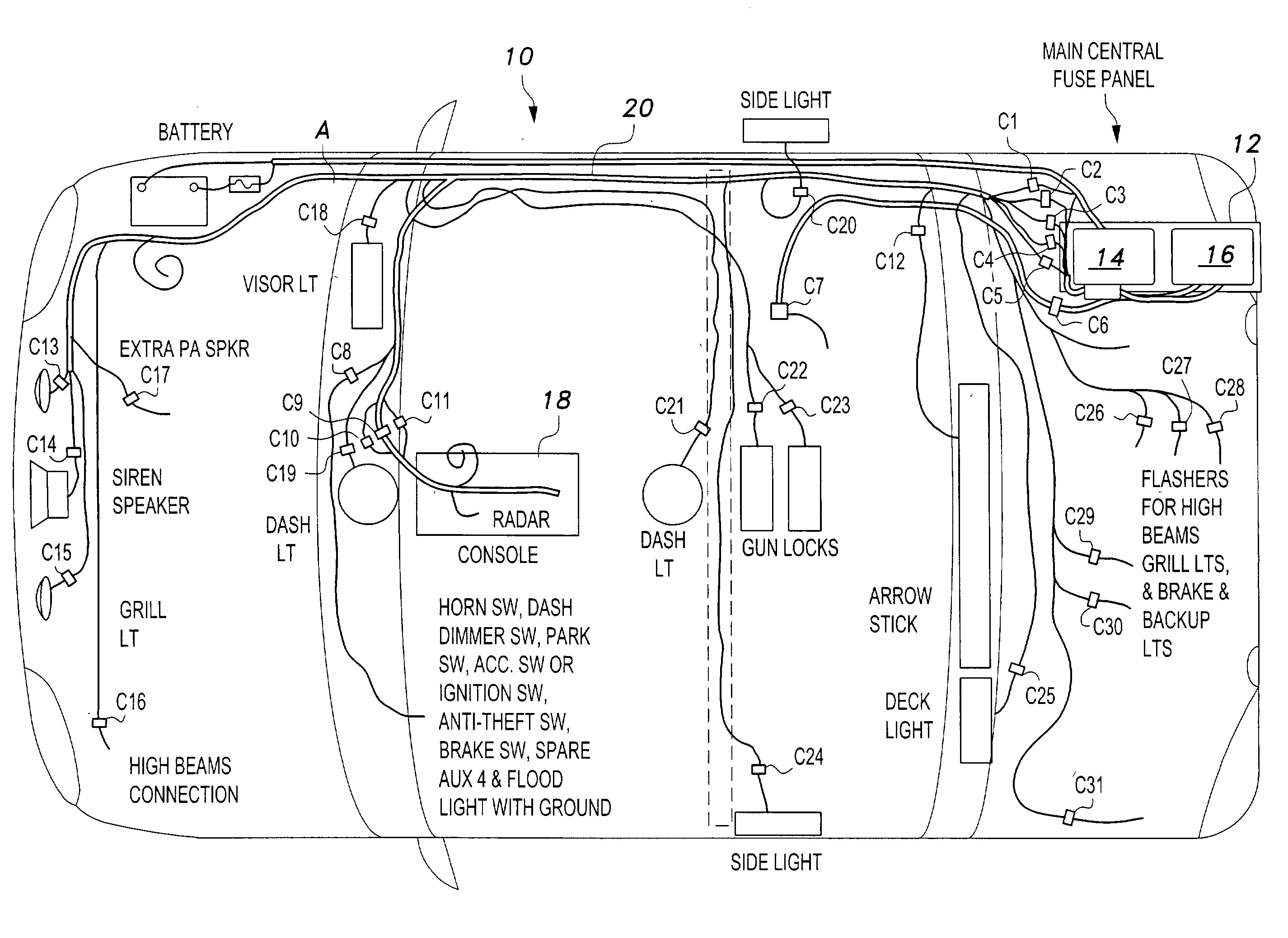 Wiring Diagram For Whelen Edge 9000 New Whelen Liberty Lightbar Wiring Diagram Wiring Solutions