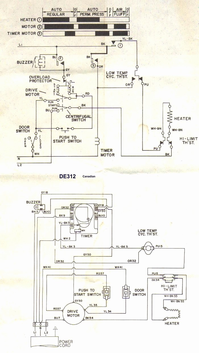 Whirlpool Dryer Thermostat Wiring Diagram Electrical Diagrams Amana Gew9868kq1 Schematic Gas Clothes