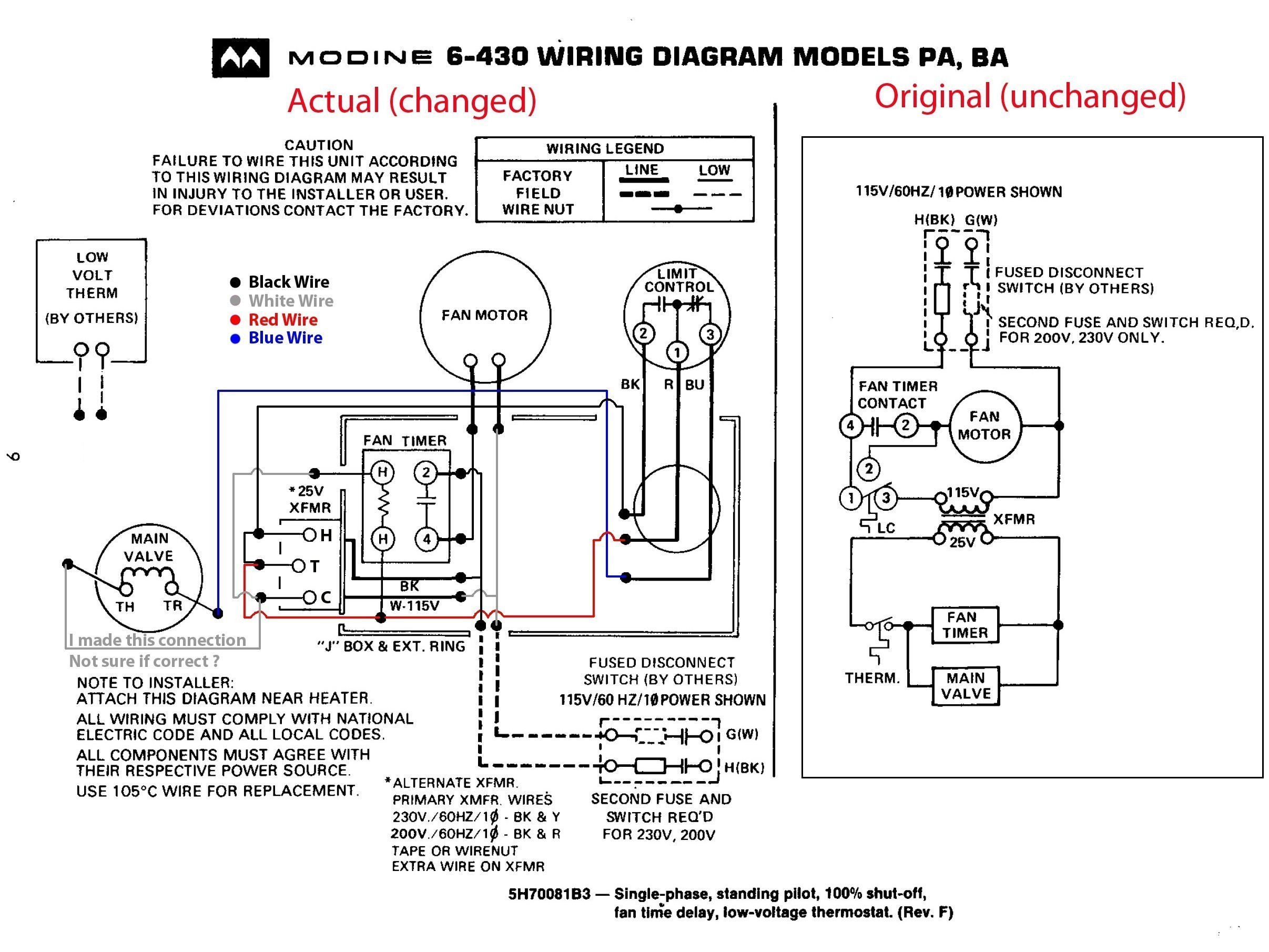 Fan Motor Wiring Diagram from mainetreasurechest.com