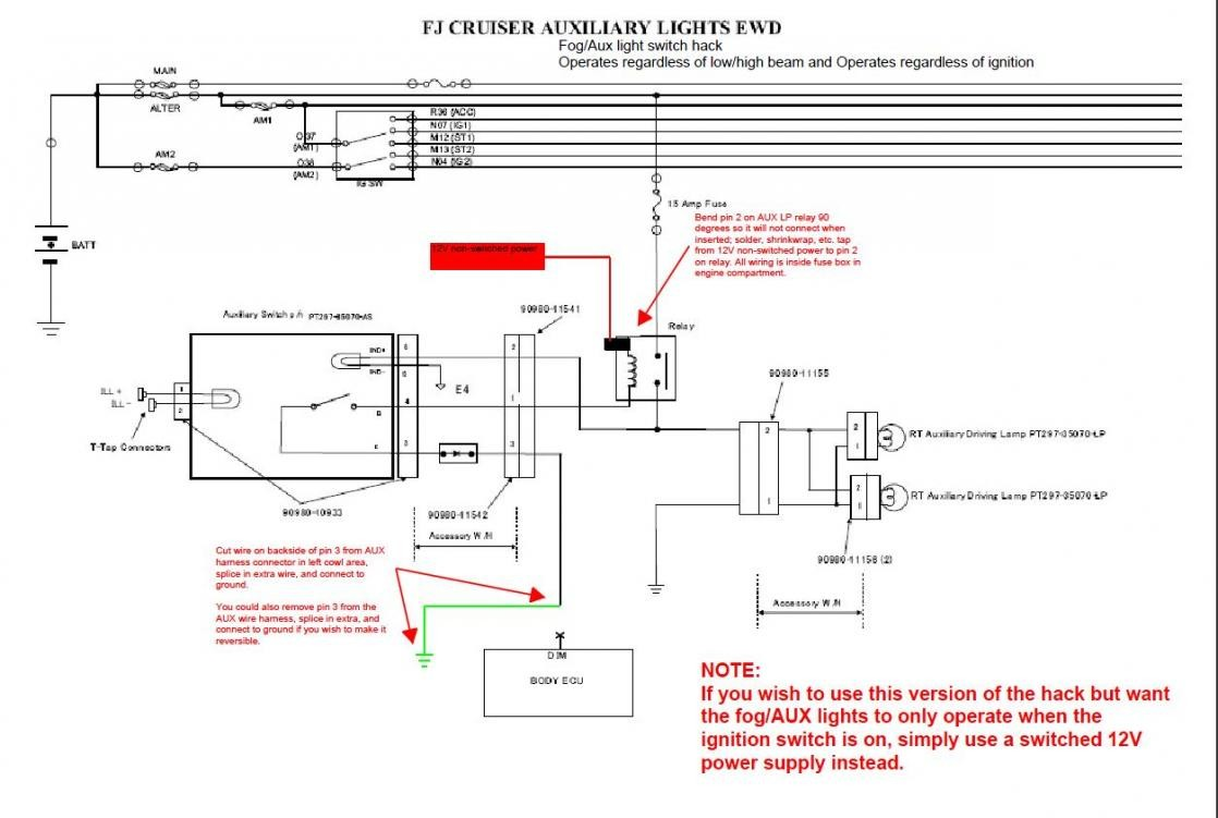 Toyota Fj Cruiser Wiring Diagram Library Rewiring A 1970 Fj40 From Scratch Ih8mud Forum Headlight Electrical Diagrams Pt