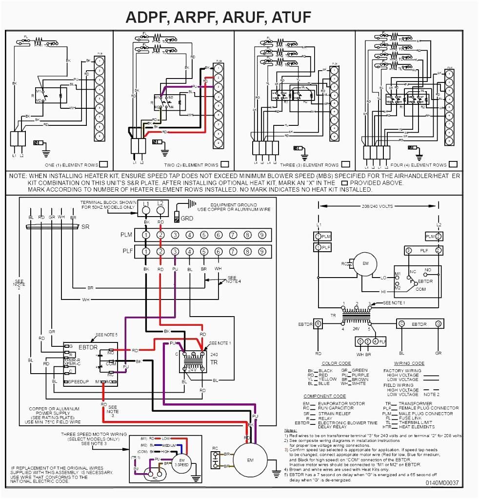 Goodman Air Handler Wiring Diagram Electric Furnace At Heat Pump Throughout