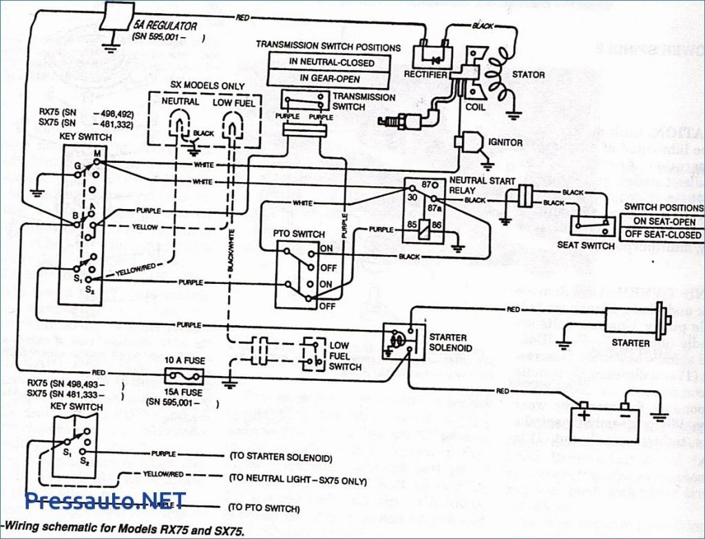 John Deere Wiring Diagram Luxury Lt155 Wiring Diagram