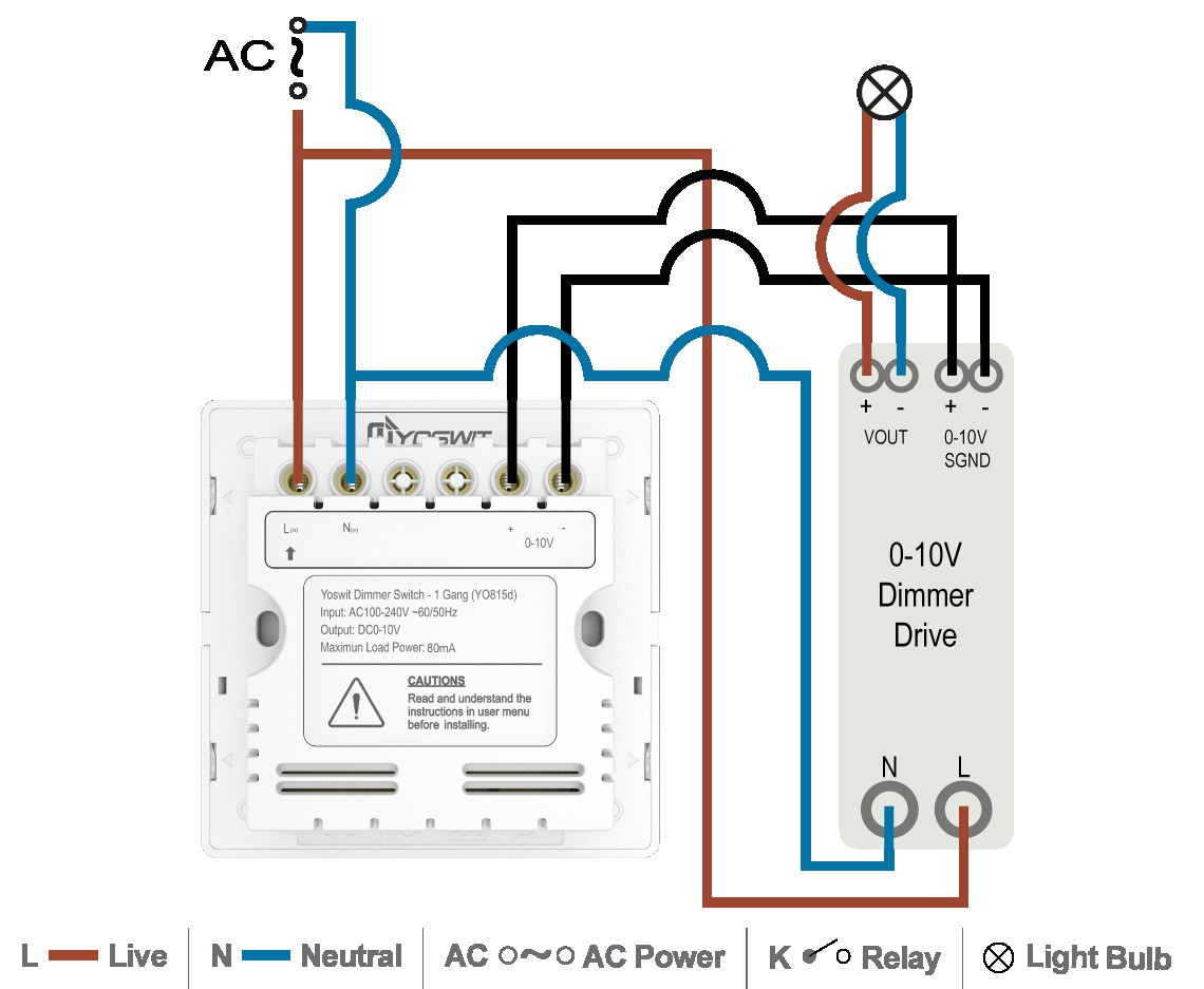 Lithonia Led Dimmer Switch Wiring Diagram | Wiring Liry on