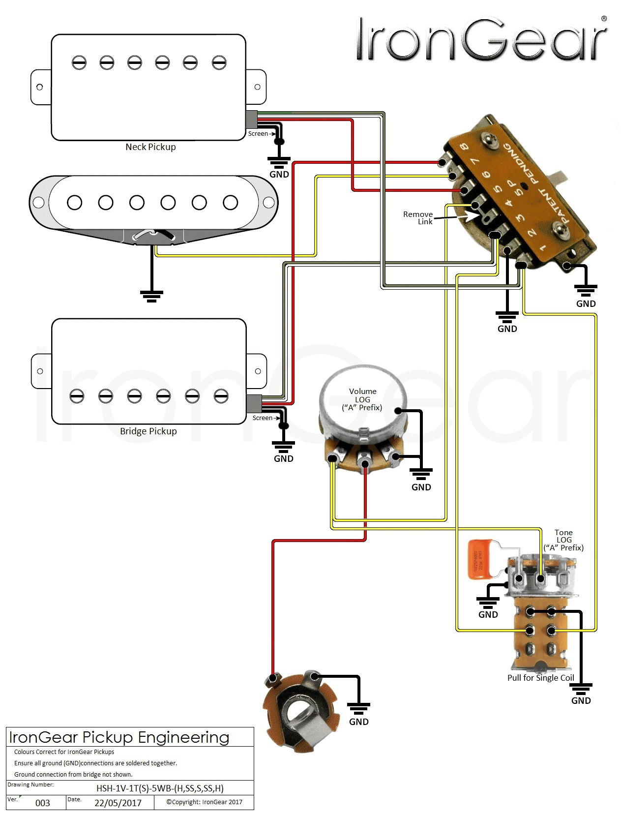 Vqc Get 3 Humbucker 5 Way Switch Wiring Diagram Fantastic