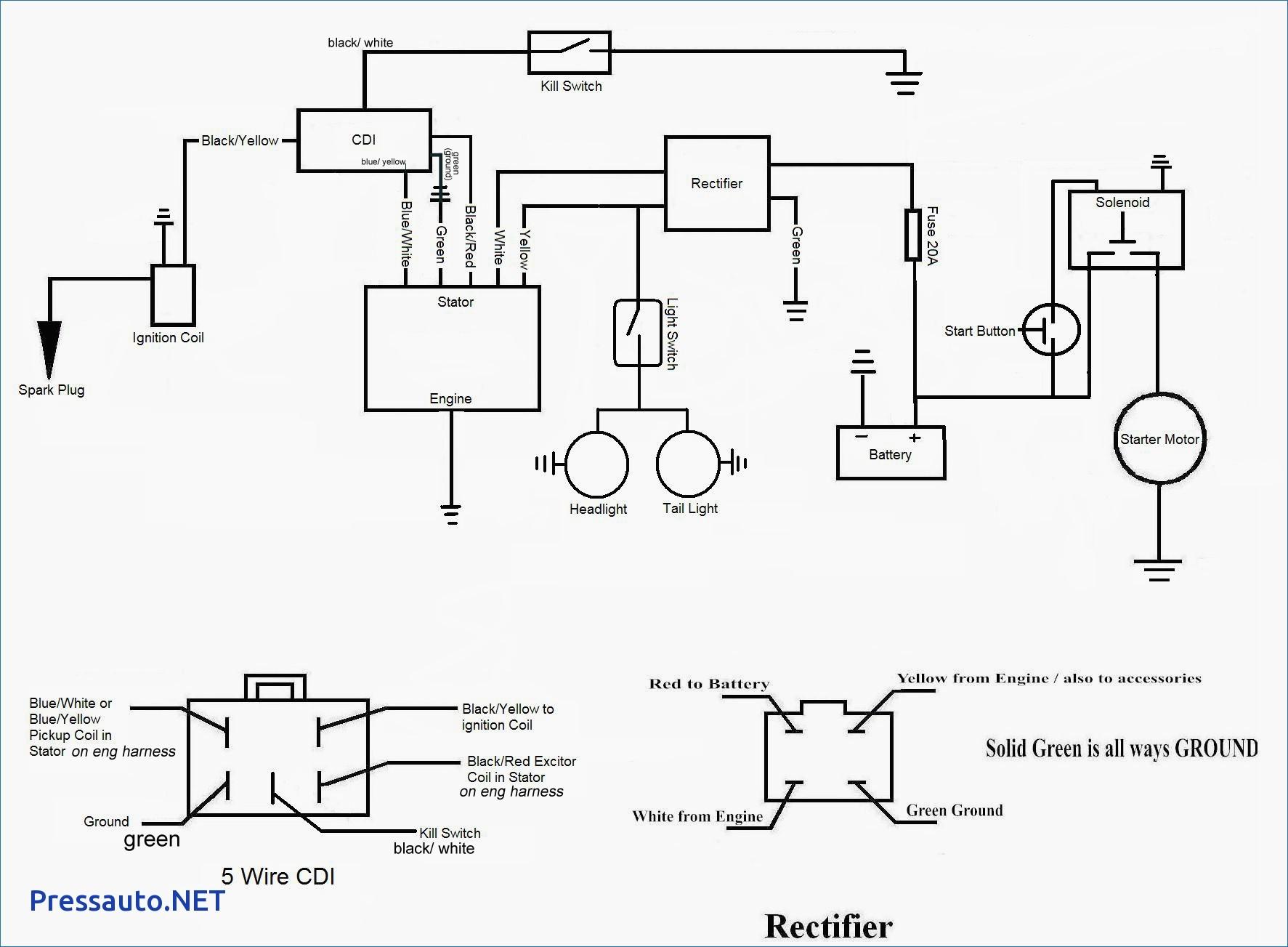elegant 125cc pit bike wiring diagram