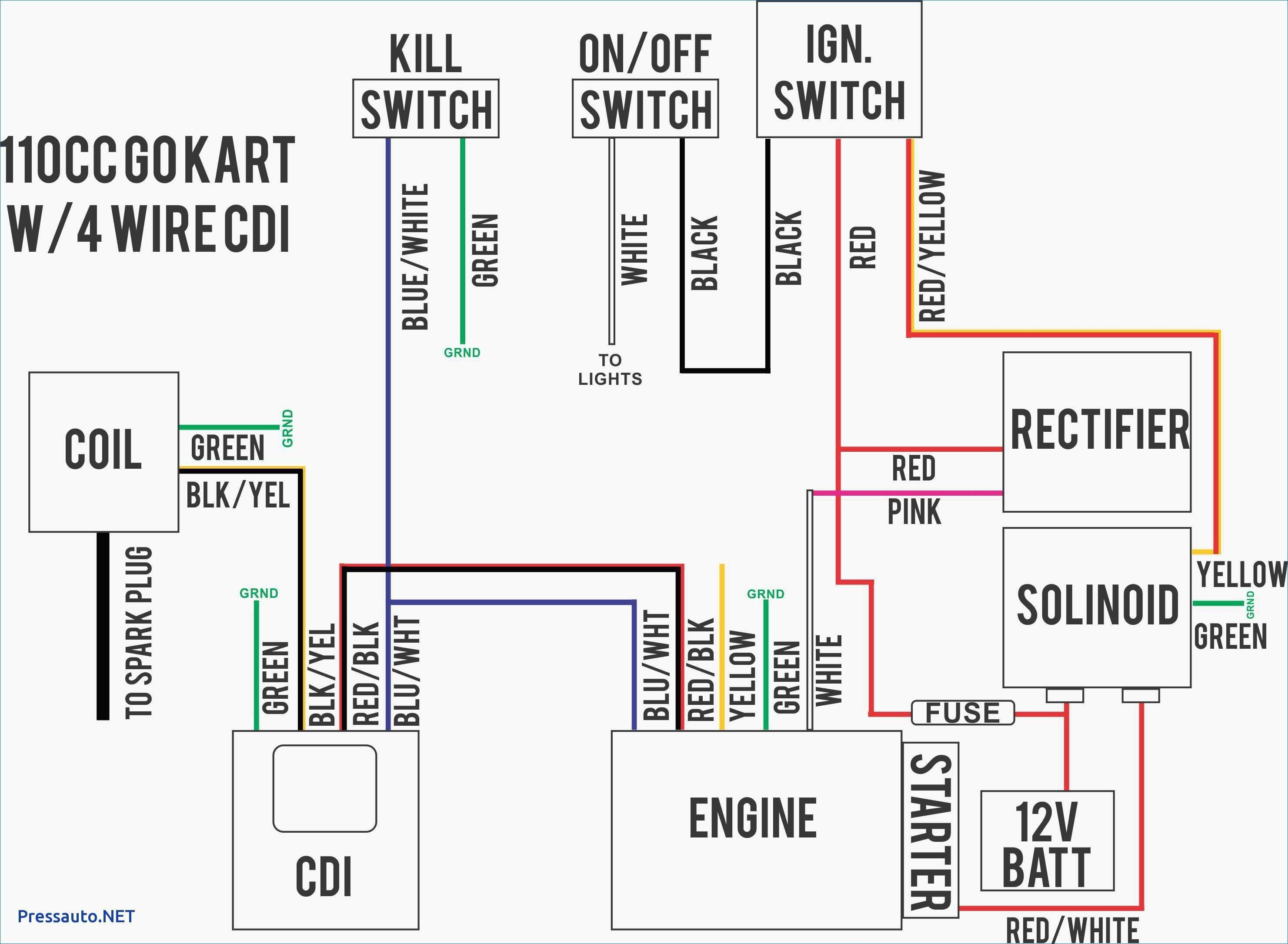 Wiring Diagram For Kazuma Quad